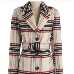 Modcloth 'Retro Beat' Coat size small